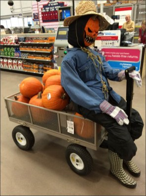 Seasonal Pumpkin Utility Cart Sales 2