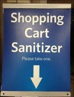Shopping Cart Sanitizing Imperative
