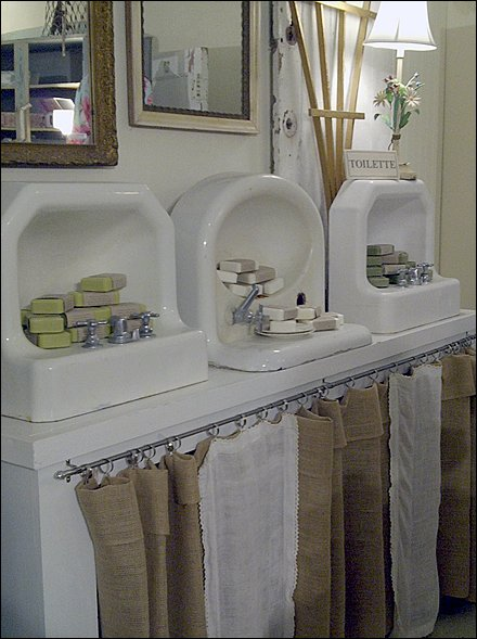 Sink do it yourself display niche fixtures close up sinks as display frames angled main sisterspd