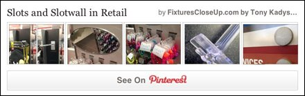 Slots and Slotwall FixturesCloseUp Pinterest Board