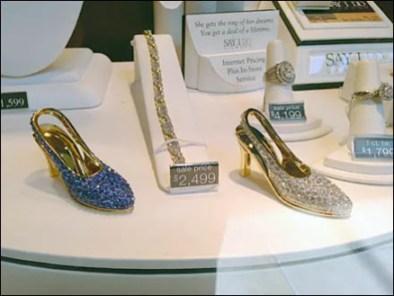 Bejeweled Kitten Heels Jewelry On Sale 12