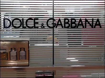 Dolce and Gabbana Fragrance Display 4