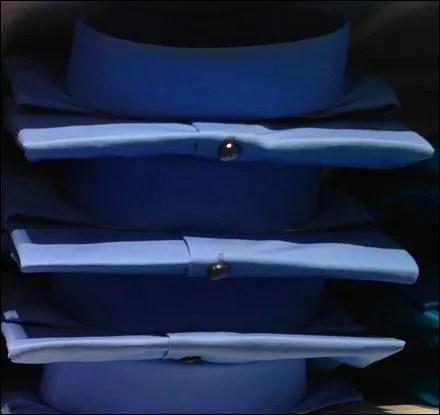 Dress Shirt Color Array Closeup Detail 1