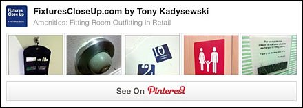 Fitting Room Amenities Pinterest Board