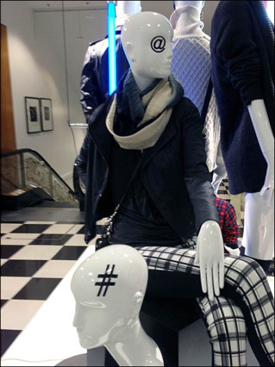 HashTag and AtMark Merchandising MAux