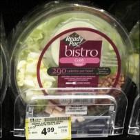 Salad-to-Go Shelf Management Detail