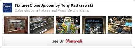 Dolce & Gabbana® FixturesCloseUp Pinterest Board