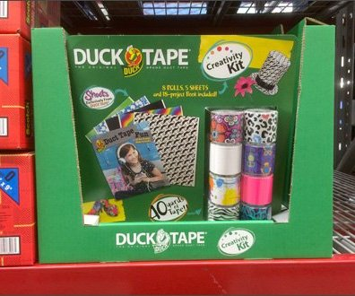 Duck Tape Creativity Kit Overall