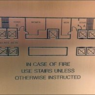 Emergency Floor Plan Elevator Plaque Detail