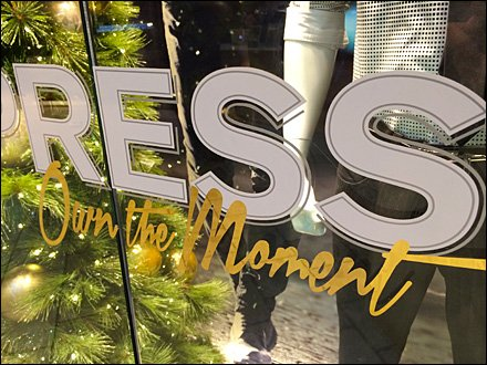 Express Own The Moment Branding Aux