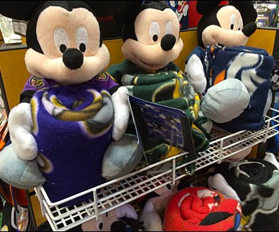 Mickey Mouse® Square Perf Shelf 1