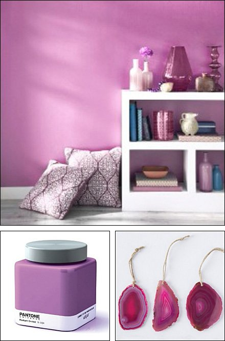 Radiant Orchid PMS Color of 2014
