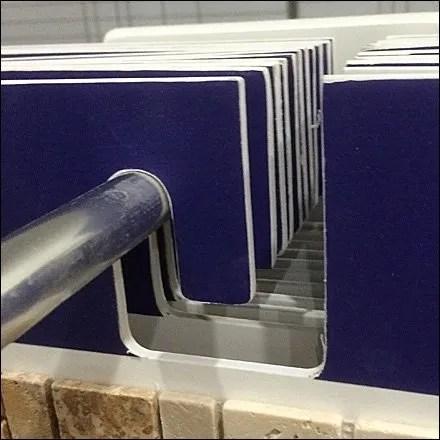 Tile Hang Rod Detail Left