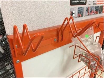 V-Shape Safety Loop Hooks 1