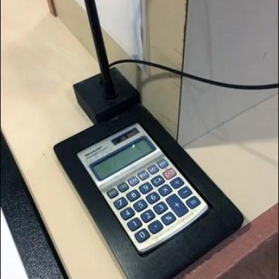 Calculator as Cashwrap Amenity Overall