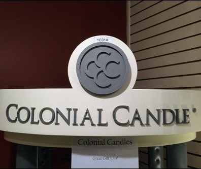 Colonial Candle Display Ups-The-Ante