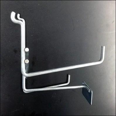 Hammer Hook Pegboard & Slatwall 2 Side