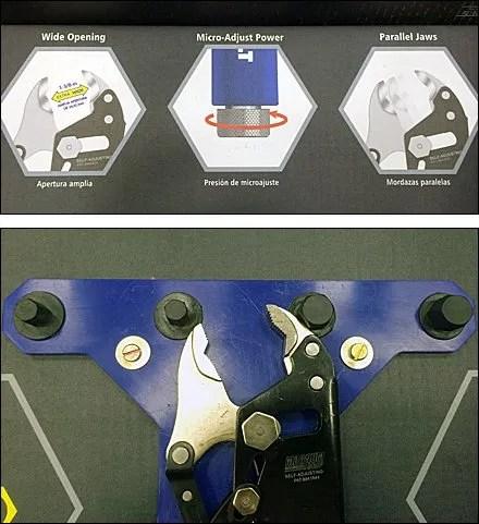 Kobalt Magnum Pliers Try-Me Display