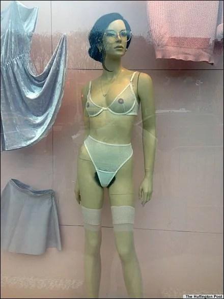Mannequins Feature Pubic Hair