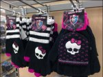 Monster High Skull Cap and Gloves Main