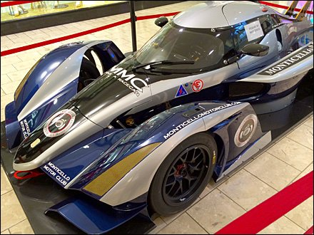 Monticello Race Car at the Mall 1