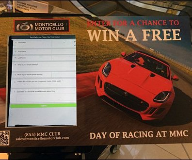 Monticello Win Free Driving Experience