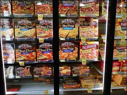 Glass-Door Freezer Product Billboarded