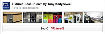 Portfolio Merchandising FixturesCloseUp Pinterest Board