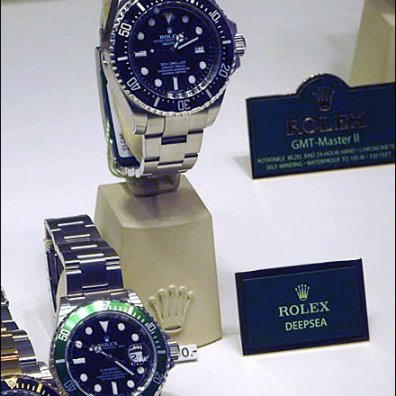 Rolex Price Tag