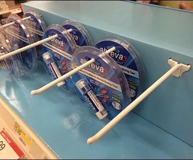 Abreva® Corrugated Shelf-Topper 3