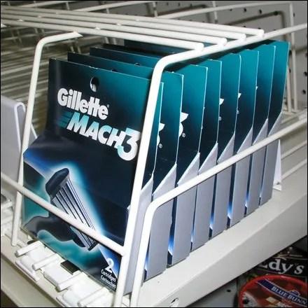Gillette Retail Fixtures - Gillette Art Deco Auto Feed
