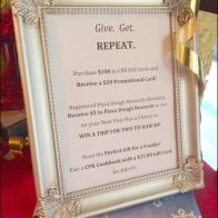 Give Get Repeat Gift Card Frame Main