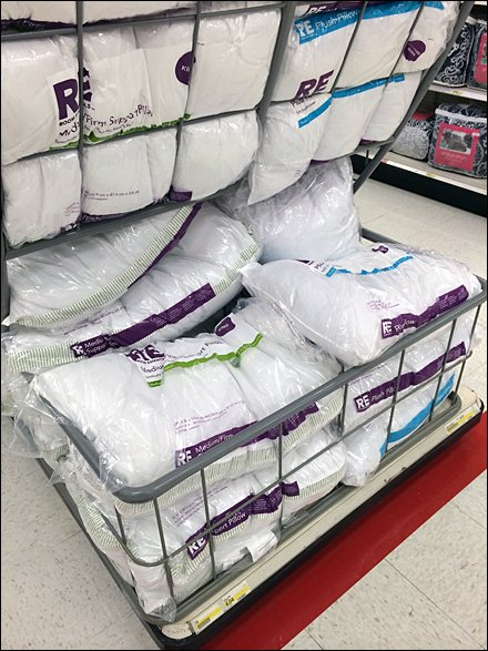 Bulk Gravity-Feed for Pillows Goes Bigtime