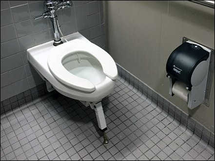Heavy-Load Toilet Kicj Stand 0