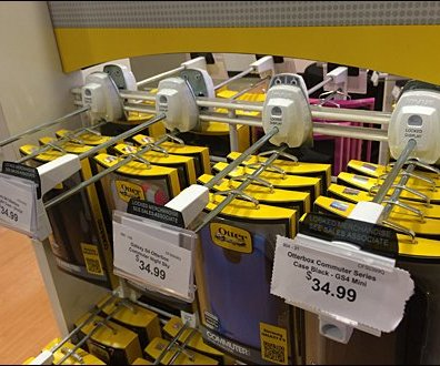 OtterBox On Double Lockdown Store Security