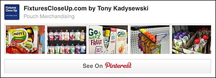 Pouch Merchandising FixturesCloseUp Pinterest Board
