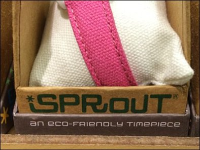Sprout Eco-Friendly Watch Branding