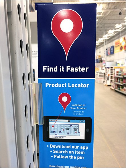 Retail Navigation by In-Store App