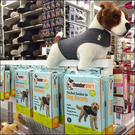 ThunderShirt Plush Spokesmodel Display