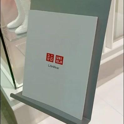 UNIQLO Lifewear Literature Holder Detail