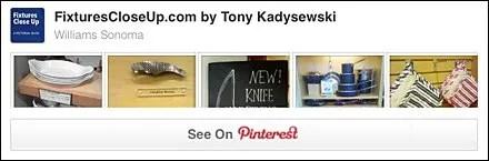William Sonoma® Pinterest Board