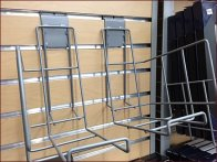 Wire Slatwall Frame Displayer 2