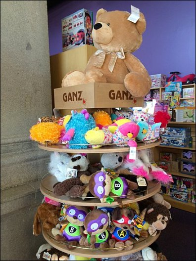 Ganz Plush In THe Round 1
