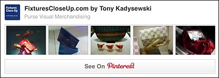 Purse Visual Merchandising Pinterest Board