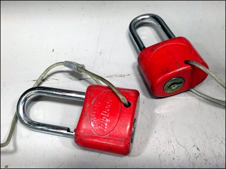 RugDocter Branded Anti-Theft Locks