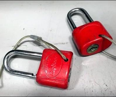 RugDocter Tethered Anti-Theft Locks Main