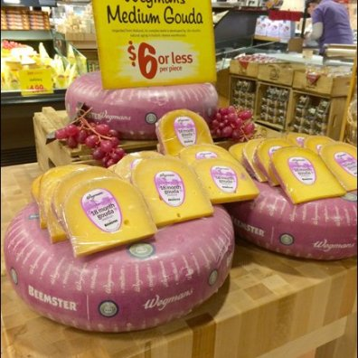 Wegman's Gouda Cheese Wheels 1