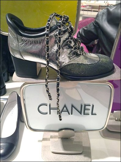 Chanel Shoe in Chains Main