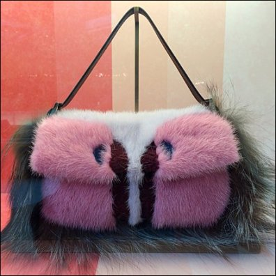 Fendi Fuzzy Purse Pets 1
