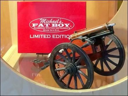 Michael's Fat Boy Gun Carriage Merchandising